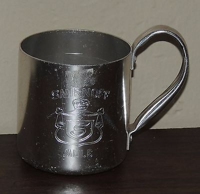 ONE Smirnoff Vintage Aluminum Moscow Mule Mug Cup