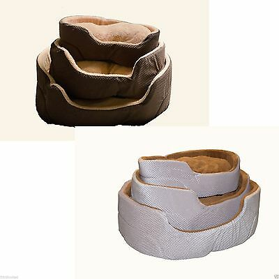 Luxurious Washable Pet Dog Puppy Cat Bed Cushion Soft Mat Warm Basket Comfy bed