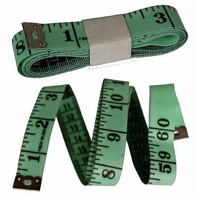 "White Measure Tape 150cm 1.5m 60"" Sewing Craft Sew Tailor Body Ruler Measuring"