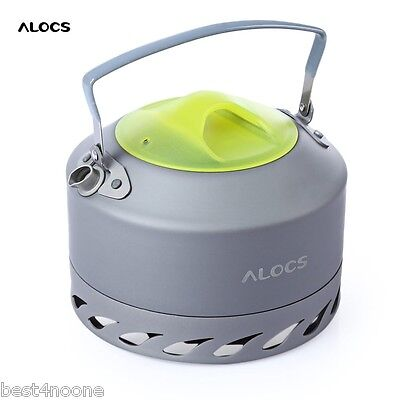 ALOCS CW - K07 0.9L Aluminum Alloy Camping Hiking Picnic Coffee Water Kettle