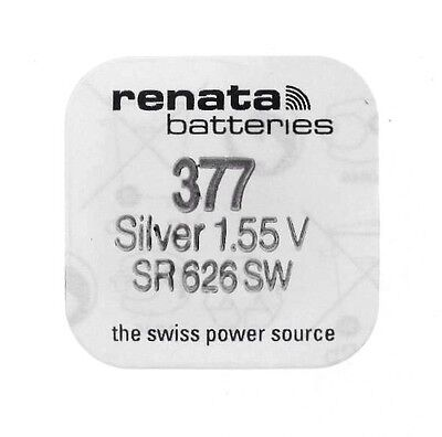 Renata 377. Sr626Sw. 1.55V Swiss Watch  Battery/cell. Free Postage