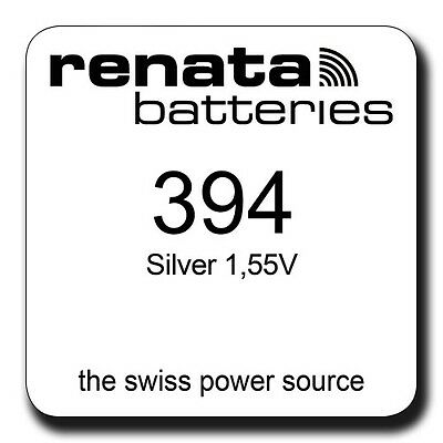 2 x RENATA 394 SR936SW 1.55v WATCH BATTERY/CELL - PRICE FOR 2 BATTERIES