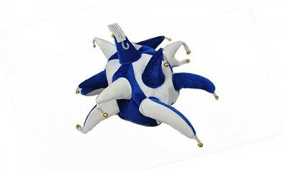 Royal Blue and White Supporters Jester Hat - Fancy Dress