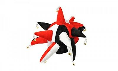 Red, Black and White Supporters Jester Hat - Fancy Dress
