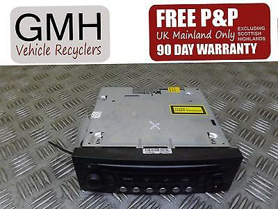 Citroen C4 Radio Stereo Cd Player Head Unit Without Code 7643134692  2004-2008¿§