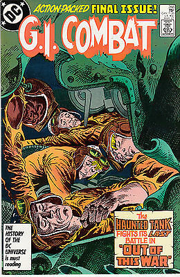 G.I. COMBAT #288 (March 1987) FINAL ISSUE * Haunted Tank *