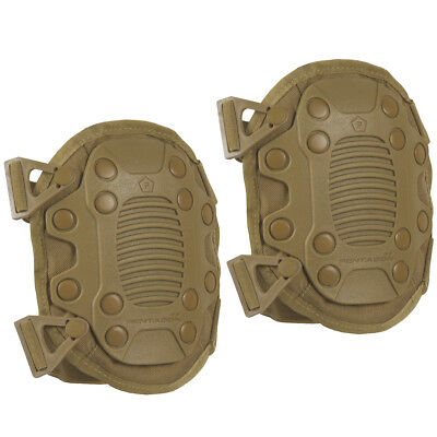 Pentagon Lithos Knee Pads Protective Airsoft Paintball Gear Support Cover Coyote