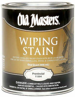 Old Masters Wiping Stain Provincial Quart