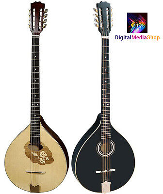 Irish Bouzouki with EQ, Made by HORA, Romania + One Hora Strings Set