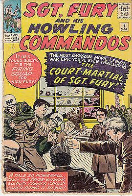 SGT. FURY & His Howling Commandos #7 (May 1964)