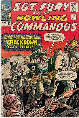 SGT. FURY & His Howling Commandos #11 (Oct 1964) (ii)