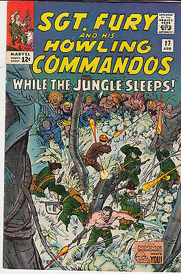 SGT. FURY & His Howling Commandos #17 (April 1965)