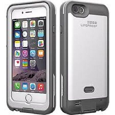 "Authentic OEM LifeProof FRE Power Waterproof Case For iPhone 6/6s 4.7"" white"