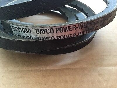 Dayco 5VX1030 Power Wedge Cog-Belt Checkmate Made In USA (stock#404)