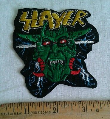 Slayer Patch Music Rock Band Embroidered Shirt Logo