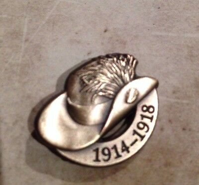 WW1 The Great War Light Horse 1914-1918 Lapel Pin Remembrance Day * ANZAC Day