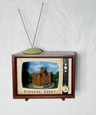 Nib Amusements Large Musical Retro Tv Downton Abbey Rotating Cars - 8 Xmas Songs