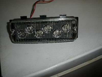Whelen Tir6 Led Series 500 Lighthead And Mounting Pod With Clear Lens See Pics