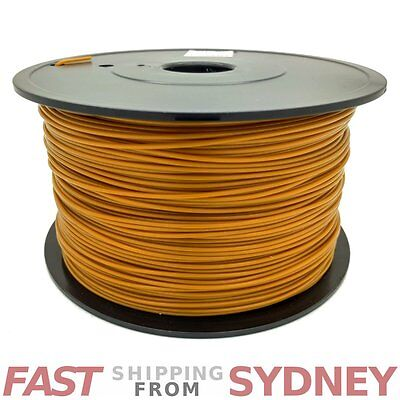 3D Printer Filament PLA 1.75mm Gold 1kg Roll, FAST shipping SYDNEY