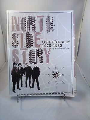 U2 in Dublin 1978-1983 North Side Story 272 Pg. Book & Poster Map Niall Stokes