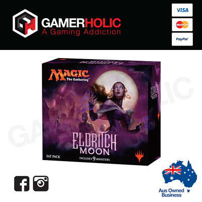 Magic The Gathering Eldritch Moon Fat Pack 9 Boosters Guide Dice