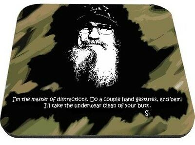 Uncle Si Master of Distractions Mouse Pad