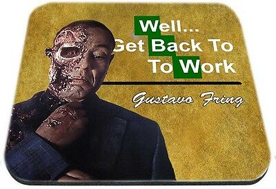 Breaking Bad Gustavo Fring Well Get back To Work Mouse Pad