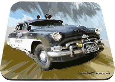 Pursuit 2 Old Police Car Mouse Pad