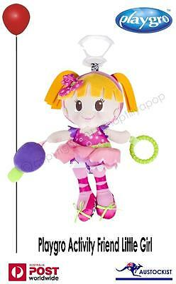 "Playgro Active Friends Tilly Doll BNWT 16"" small (plastic) mirror & rattle Baby"