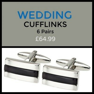 Special Offer - 6 Pairs of Cufflinks