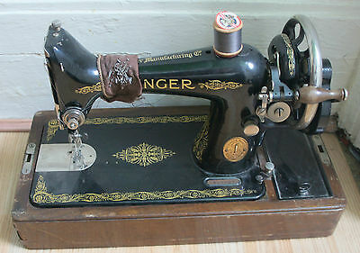 the singer manfg.co trade mark sewing machine