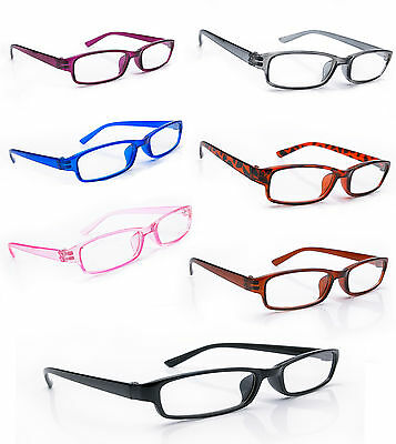 Women Men READING GLASSES +0.5 +1.0 +2.0 +3.0 +4.0.Eyeglasses  Slim Frame