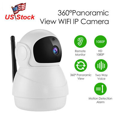 P2P HD 720p Wireless Wifi IP Camera Two way Audio Baby Monitor Video Recording