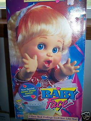 Galoob  Baby Face So Suprized Suzie 1990 New Nrfb!