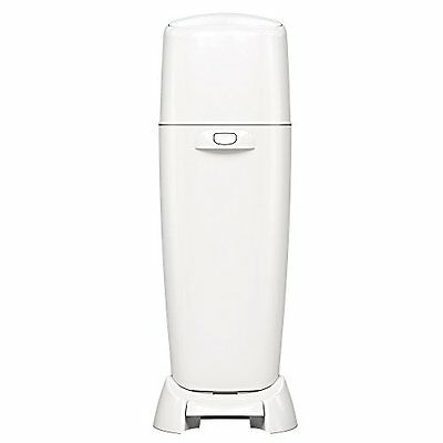 Diaper Genie Playtex Complete Diaper Pail with Odor Lock Technology, White