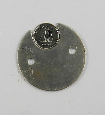 Coin Disc Dime 10 cent Seaga Style Mechanical Vending Machine Parts Spare Parts