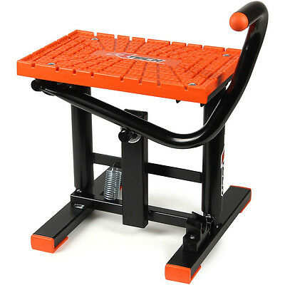 Racetech Mx NEW Dirt Bike Stands RTECH Full Size Orange Motorbike Lift Stand