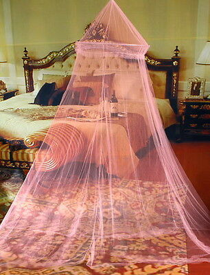 Elegant Round Lace Insect Bed Canopy Netting Curtain Dome Mosquito Net XC