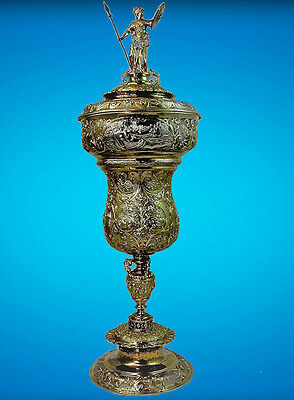 "A Documentary German Gilt ""silver Wedding"" Cup, John Gough Nichols"
