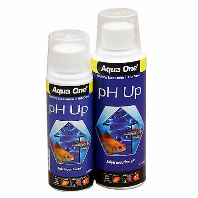 Aquarium pH Up Liquid 150ml or 250ml Sizes Available Fish Tank Aqua One