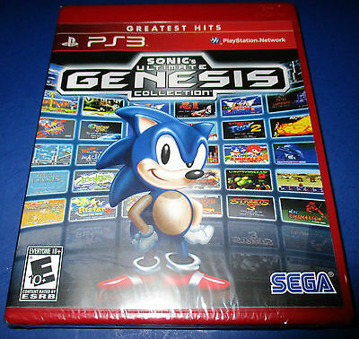Sonic's Ultimate Genesis Collection Sony PlayStation 3 - PS3 - *New! *Free Ship!