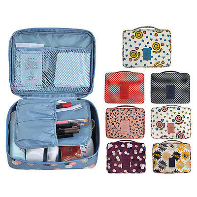 Travel Makeup Cosmetic Bag Toiletry Case Wash Organizer Storage Hanging Pouch