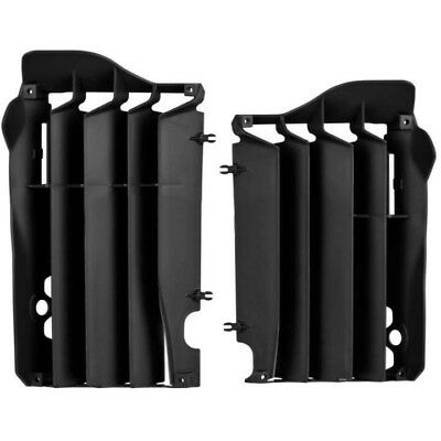 NEW Polisport MX Honda CRF450R 2013 2014 Black Guards Motorbike Radiator Louvers