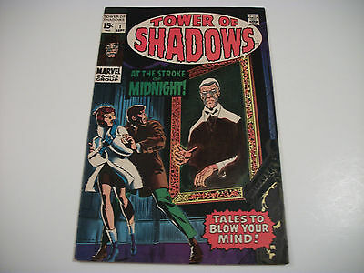 Tower Of Shadows 1 2 3 4  Fine (6.0)   Steranko  Neal Adams  Barry Smith  Colan