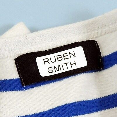 90 Personalised Stick On In Name Labels Back to School stickon stickin