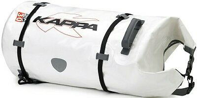 Kappa Dry Pack Motorcycle Roll Bag Silver 30L