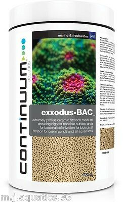 CONTINUUM EXXODUS•BAC Largest surface area media in the world and lasts 50 years