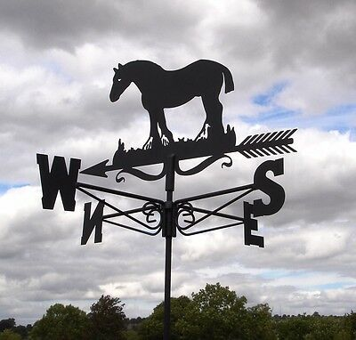 Large Clydesdale Metal Weathervane