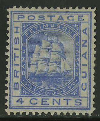 British Guiana  1876  Scott #  74  Mint No Gum