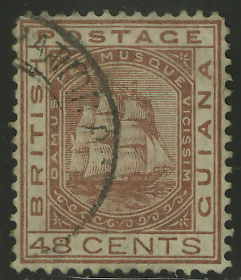 British Guiana  1876  Scott #  79  USED